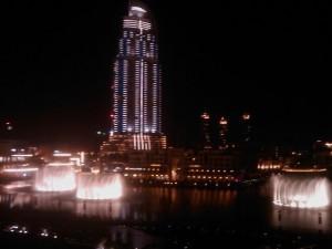 Ausblick vom Armani Hotel Dubai